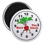 "Beet The Clock 2.25"" Magnet (10 pack)"
