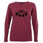 Flex Capacitor Bodybuild Plus Size Long Sleeve Tee