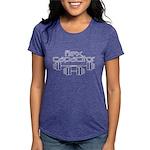 Bodybuilding Flex Capacit Womens Tri-blend T-Shirt