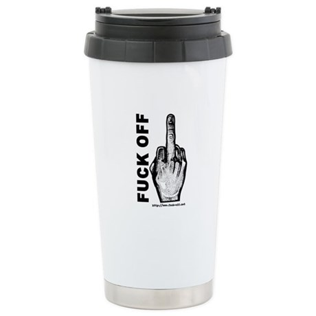 Fuck Off Stainless Steel Travel Mug