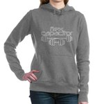 Flex Capacitor Bodybuild Women's Hooded Sweatshirt