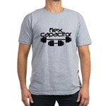 Flex Capacitor Bodybui Men's Fitted T-Shirt (dark)