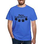 Bodybuilding Flex Capacitor Dark T-Shirt
