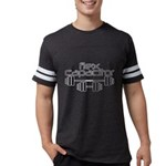 Bodybuilding Flex Capacitor Mens Football Shirt