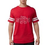 Flex Capacitor Bodybuilding Mens Football Shirt