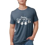 Flex Capacitor Bodybuilding Mens Tri-blend T-Shirt