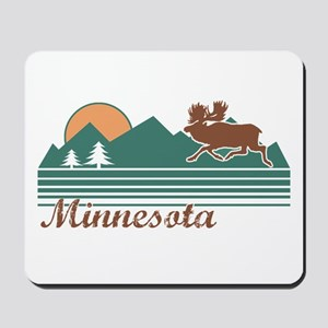 Minnesota Moose Mousepad