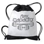 Flex Capacitor Bodybuilding Drawstring Bag