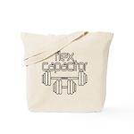Bodybuilding Flex Capacitor Tote Bag