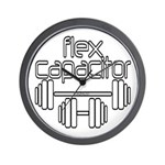 Flex Capacitor Bodybuilding Wall Clock