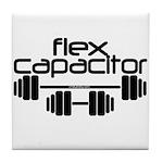Bodybuilding Flex Capacitor Tile Coaster