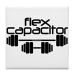 Flex Capacitor Bodybuilding Tile Coaster