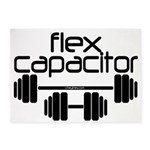 Bodybuilding Flex Capacitor 5'x7'Area Rug