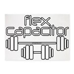 Flex Capacitor Bodybuilding 5'x7'Area Rug