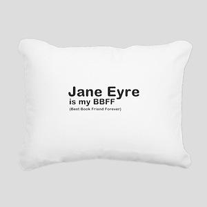 Jane Eyre BBFF Rectangular Canvas Pillow