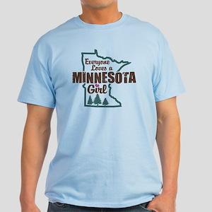 Minnesota Girl Light T-Shirt