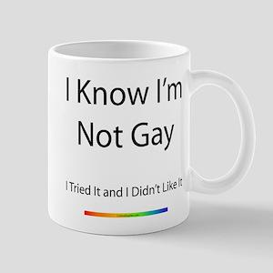 I Know I'm Not Gay! Mug