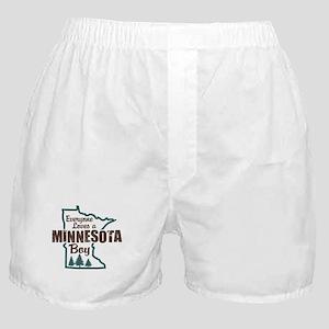 Minnesota Boy Boxer Shorts