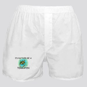 I'd Rather Be A Terrapin Boxer Shorts
