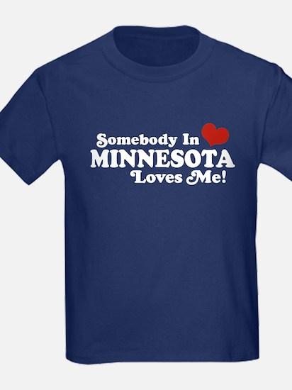 Somebody in Minnesota Loves Me T