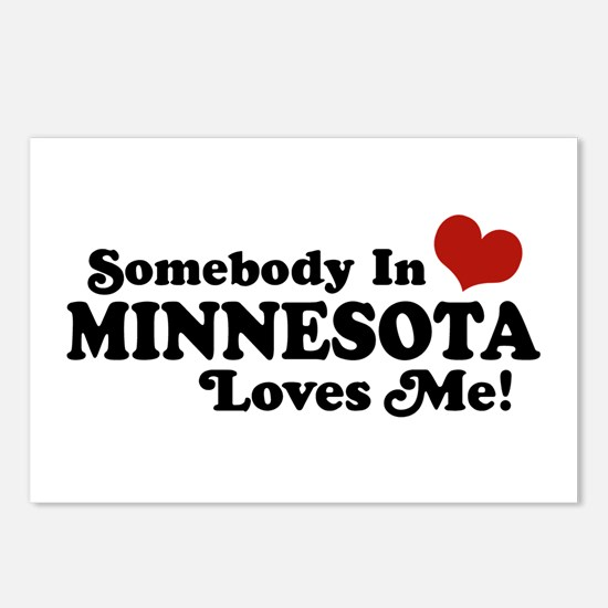 Somebody in Minnesota Loves Me Postcards (Package