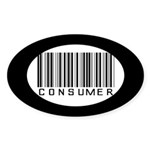 Consumer Oval Sticker