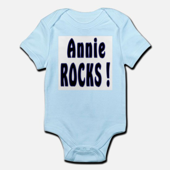 Annie Rocks ! Infant Creeper