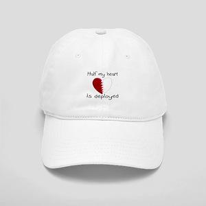 Half My Heart Is Deployed Cap