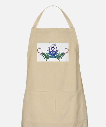 Lexi's Celtic Dragons Name BBQ Apron