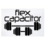 Flex Capacitor Bodybuilding 4' x 6' Rug