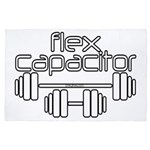 Bodybuilding Flex Capacitor 4' x 6' Rug