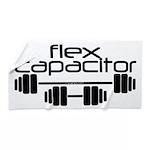 Bodybuilding Flex Capacitor Beach Towel