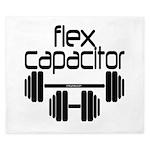 Bodybuilding Flex Capacitor King Duvet
