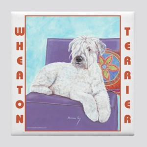 Wheaton Terrier Tile Coaster
