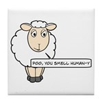 Poo, You Smell Human-Y Tile Coaster