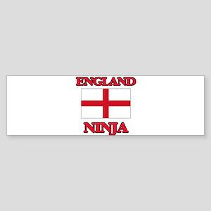 England Ninja Bumper Sticker