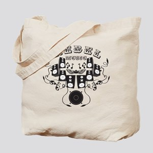 Rebel Music Tote Bag