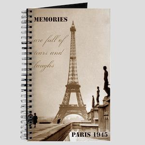 Paris Eiffel Tower Journal