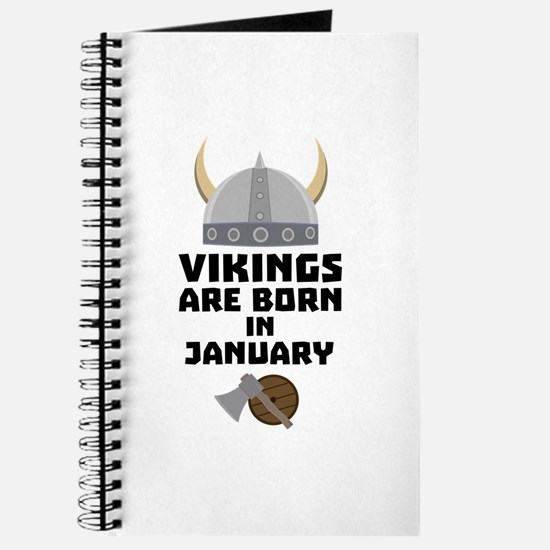 Vikings are born in January C6a7p Journal