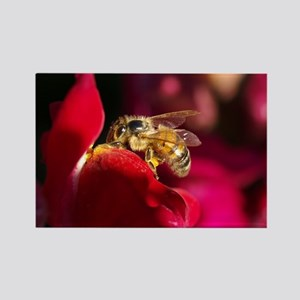 """""""Busy Bee No.2"""" Rectangle Magnet"""