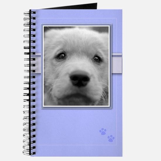 Sad Golden Retriever Puppy Journal
