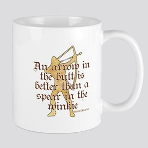 Arrow vs. Spear Mug