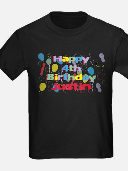 Justin's 4th Birthday T