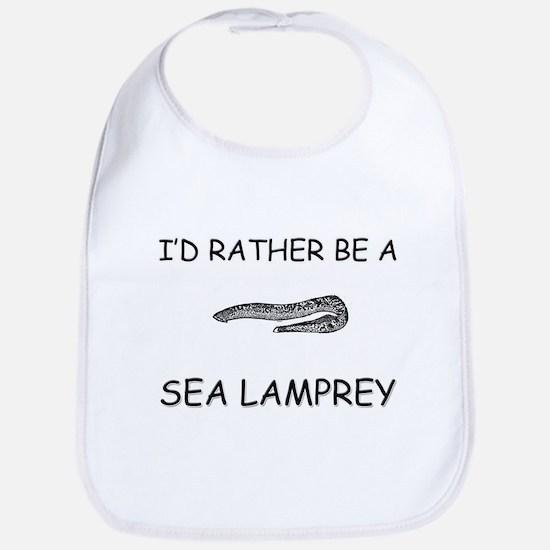 I'd Rather Be A Sea Lamprey Bib