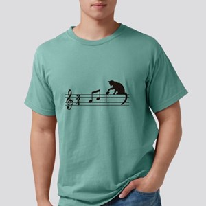 Cat Toying with Note v.1 T-Shirt