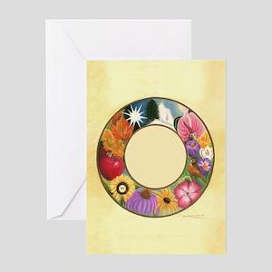 Ring of Seasons Greeting Card