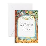 Roots in Jerusalem (Ketubah) Greeting Card