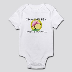 I'd Rather Be A Roseate Spoonbill Infant Bodysuit