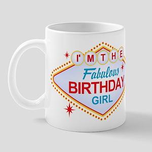 Las Vegas Birthday Girl Mug