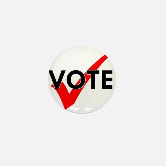 Cool Register vote Mini Button
